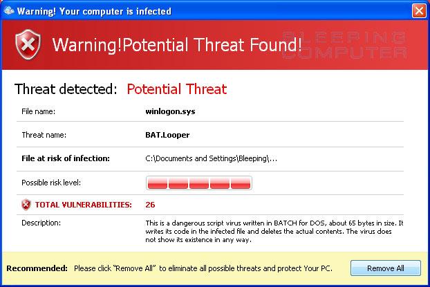 Threat Detected!