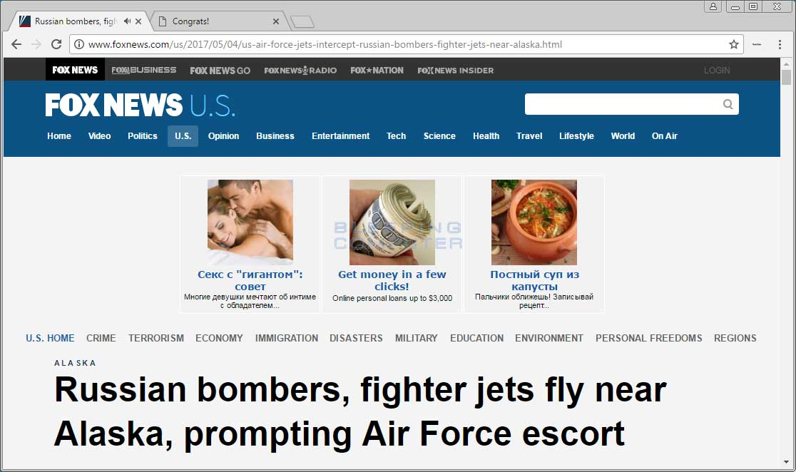 Fast approach TT Advertisements on Foxnews.com