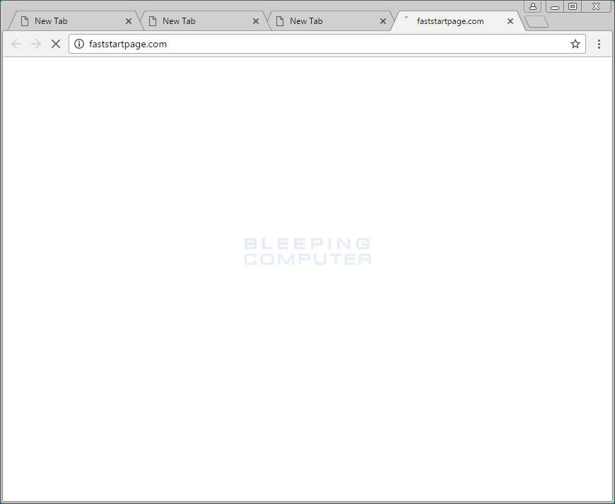 Faststartpage.com Browser Hijacker