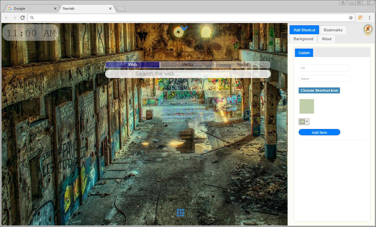 FullTab Bookmarks Screen