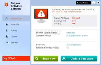 Futurro Antivirus Software Image