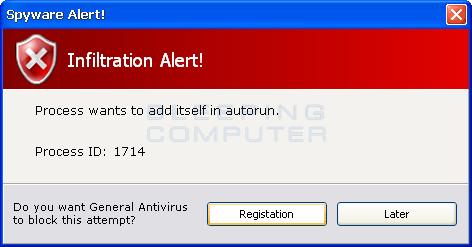 Infiltration Alert