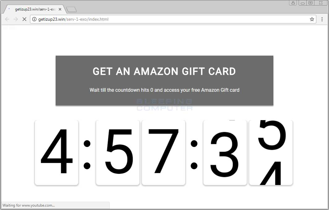 Get an Amazon Gift Card Ad