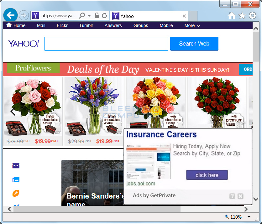 Ads by GetPrivate on Yahoo
