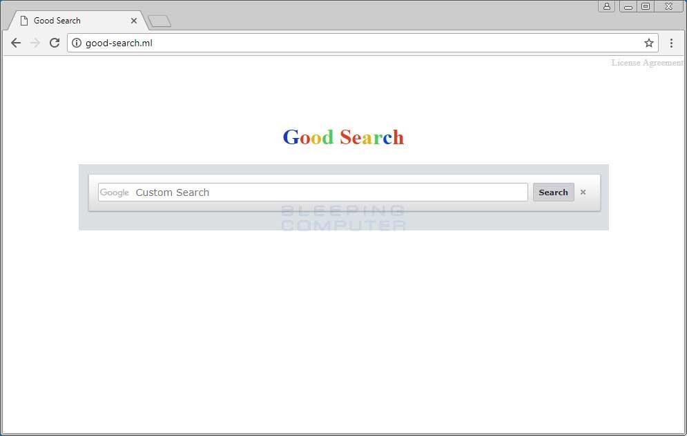 Good-search.ml Homepage Hijacker