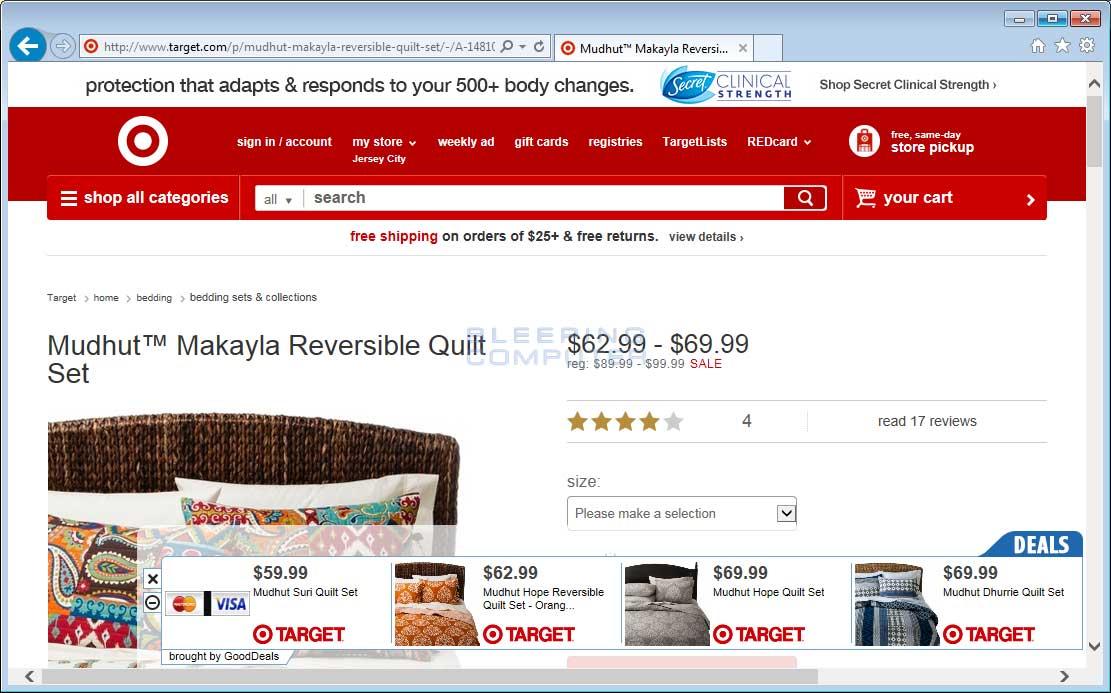 GoodDeals ads on Target