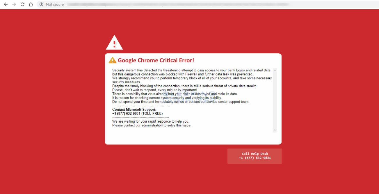 Removing the Google Critical Error Red Screen