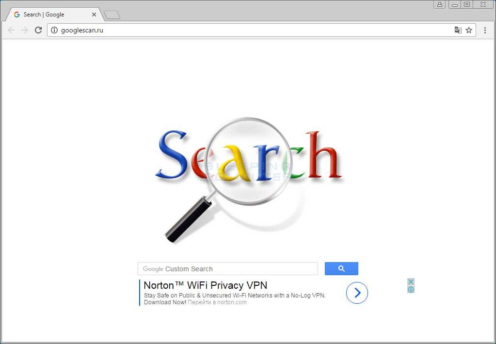 Googlescan.ru Home Page Hijack