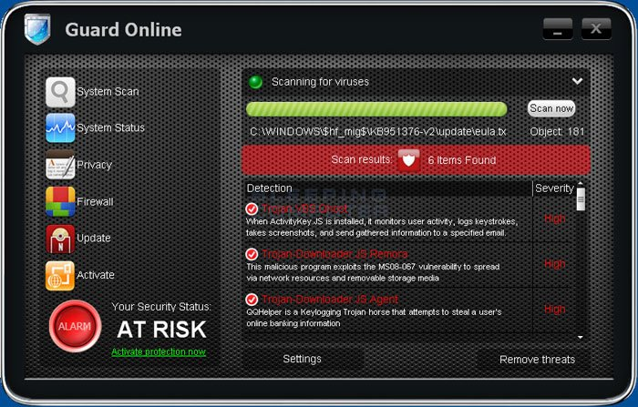 Guard Online screen shot