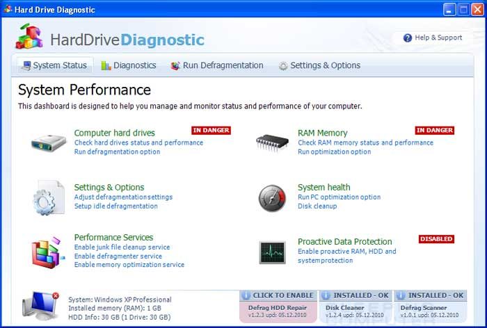 Hard Drive Diagnostic