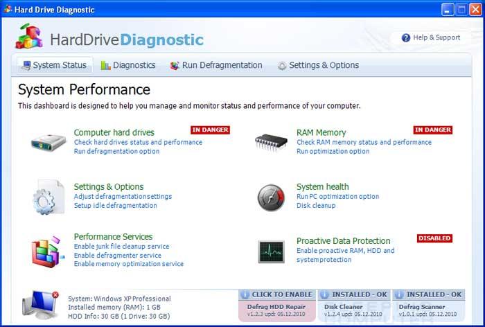 Hard Drive Diagnostic