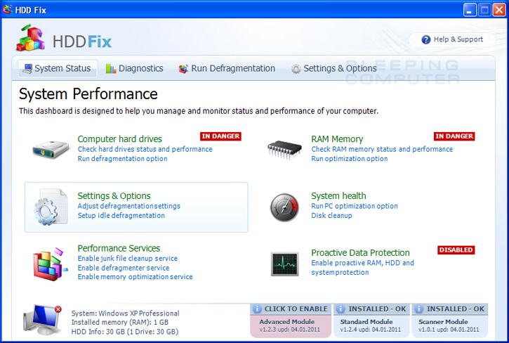 HDD Fix screen shot
