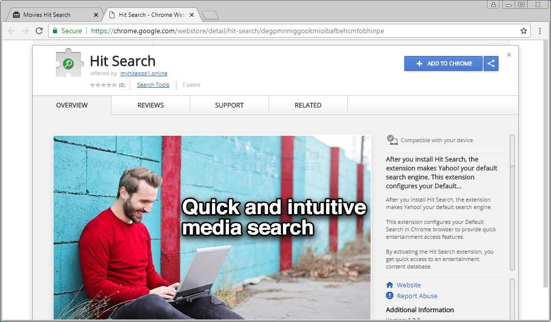 Chrome Web Store Page