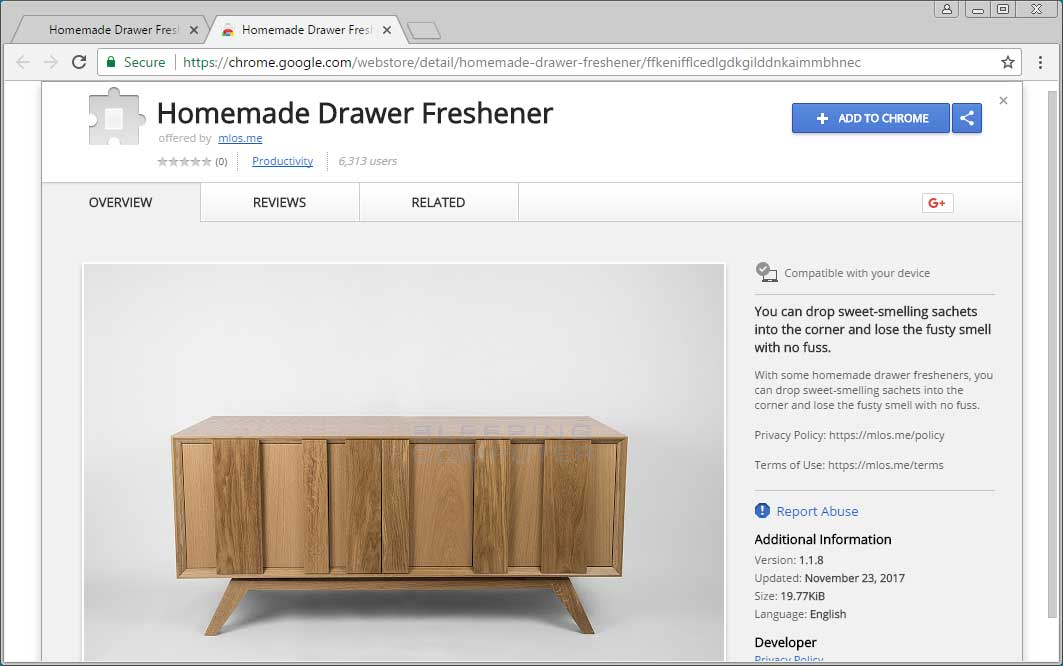 Homemade Drawer Freshener Chrome Store Page