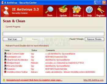 IE AntiVirus Image