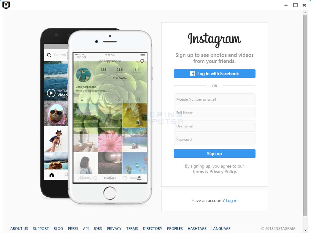 InstaTime - Instagram for Desktop