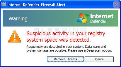 Firewall alert #2