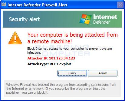 Firewall alert #3