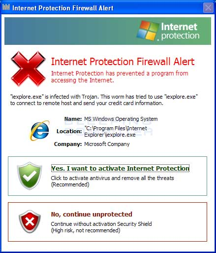 Fake Firewall Alert 2