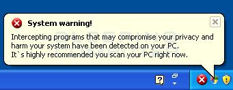 Fake security alert #2