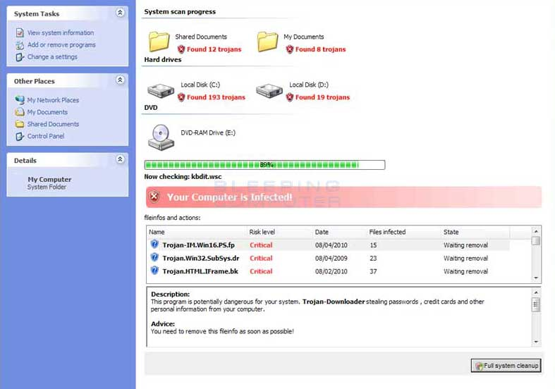 Remove Internet Security 2011 (Uninstall Guide)