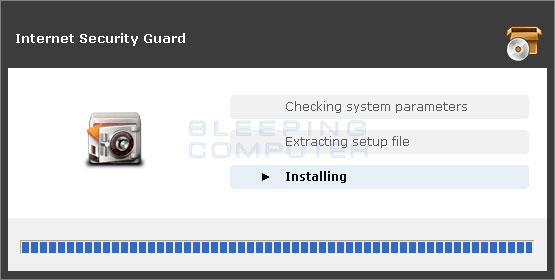 Internet Security Guard installer