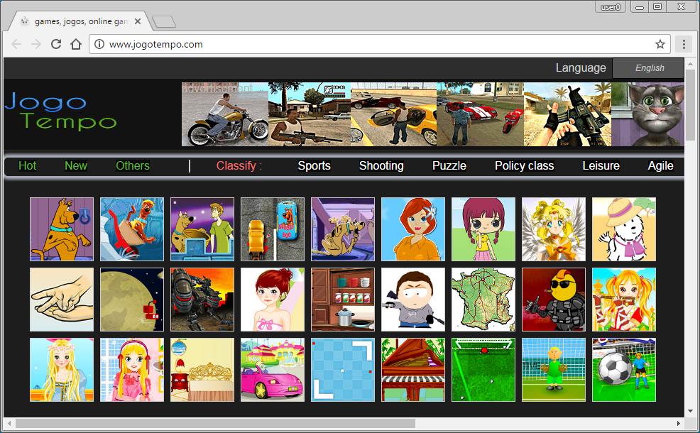 Jogotempo.com Homepage