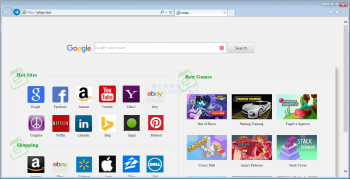 Jyhjyy.top Browser Hijacker Screenshot