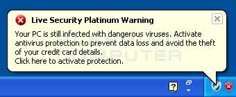 Live Security Platinum Alert