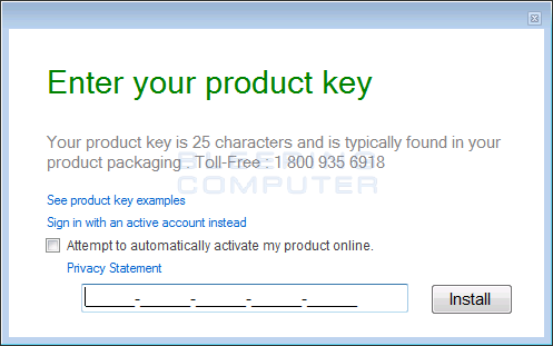 view my office product keys
