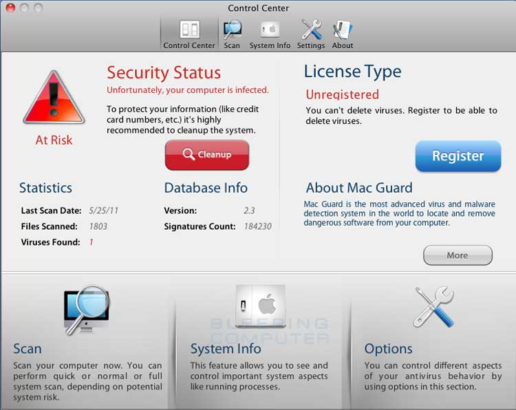 Mac Guard screen shot