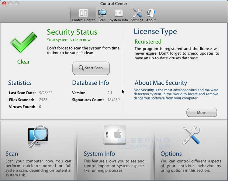 Mac Security screen shot