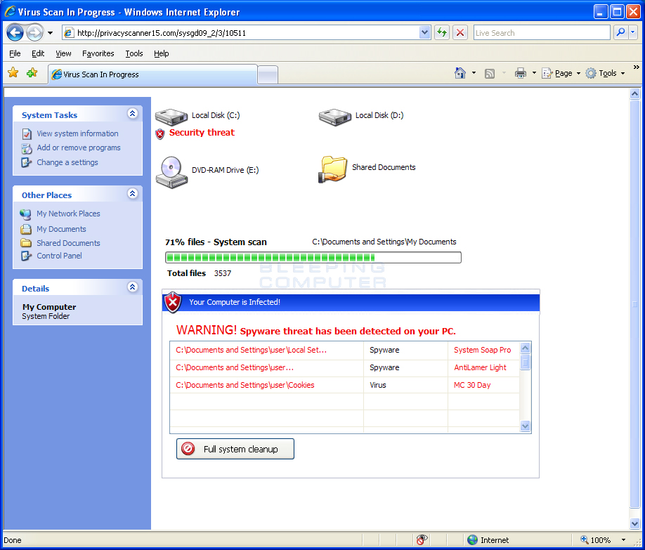 Learn how to remove Malware Defender 2009 (Removal Guide)