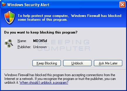 Fake Firewall Alert #2