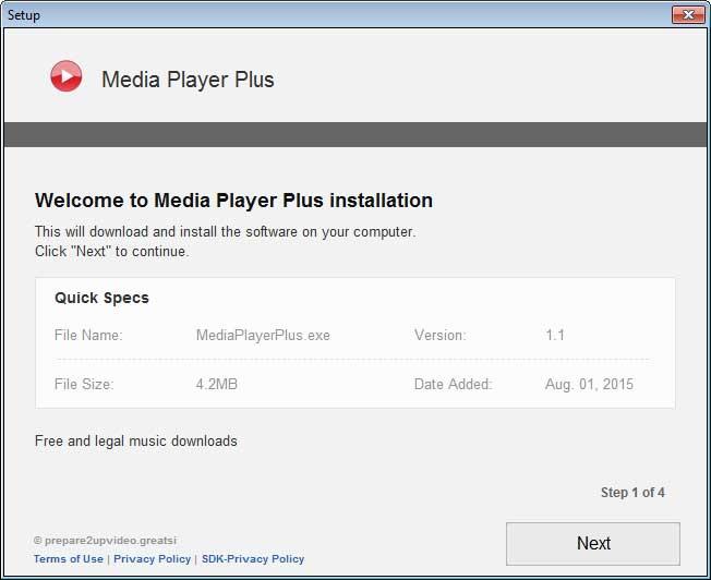 Media Player Plus Installer