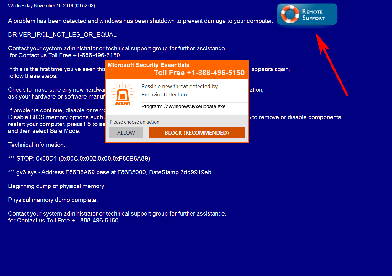 Remove The Microsoft Security Essentials Tech Support Scam