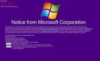 MSSecTeam Tech Support Scam Screenshot