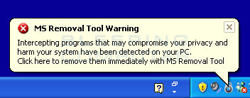 MS Removal Tool warning