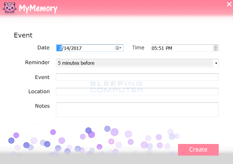 MyMemory Screen Shot
