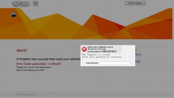 MyPC Doctor Tech Support Scam Screenshot