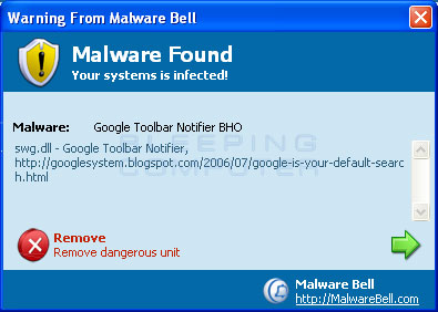Malware Bell False Positive