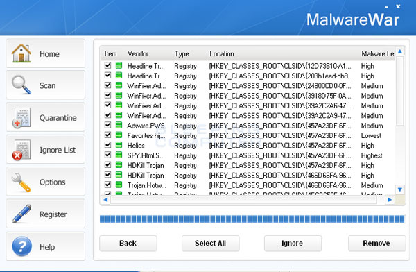 MalwareWar Screenshot