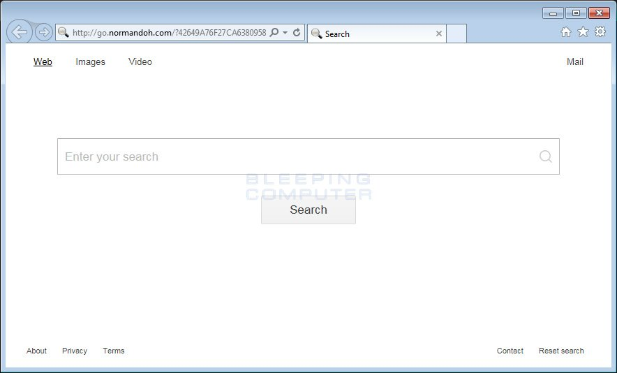 Normandoh.com Browser Hijacker