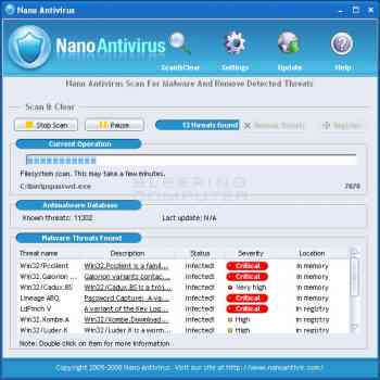 Nano Antivirus  Image