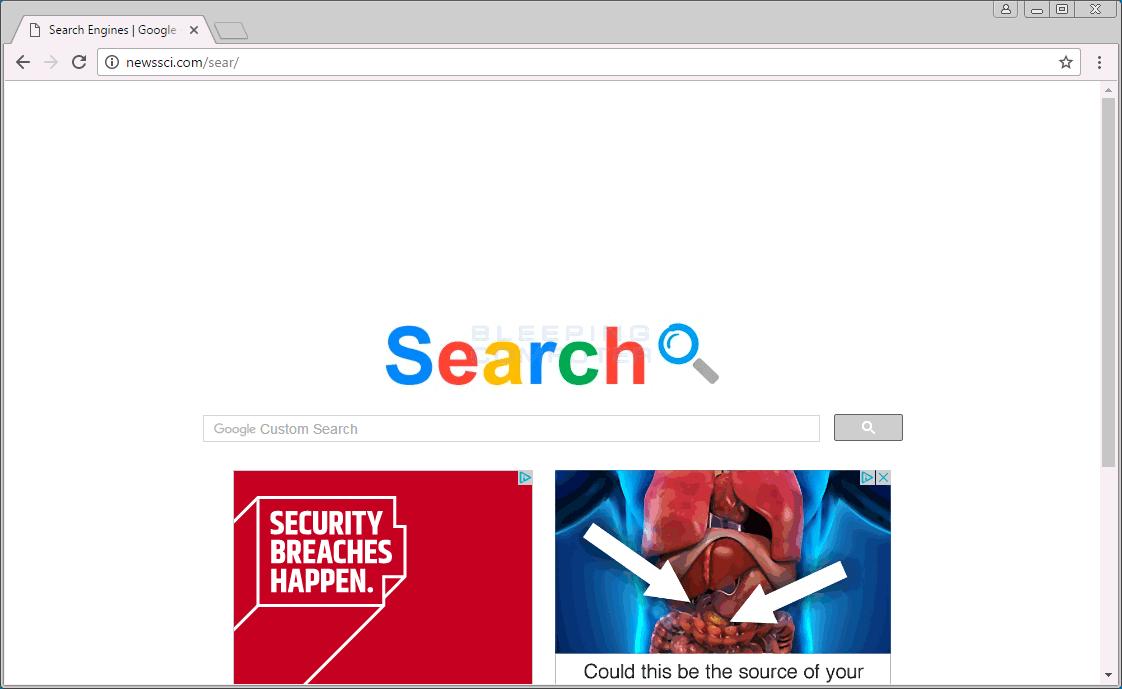Newssci.com Home Page