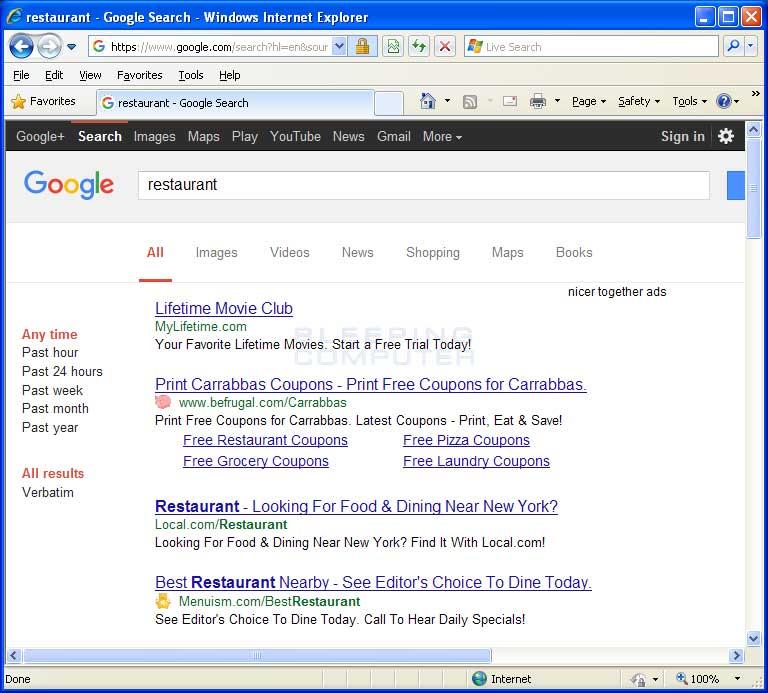 Nicer Together Ads in Google