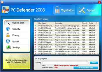 PC Defender 2008 Image