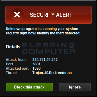 Fake Security Alert
