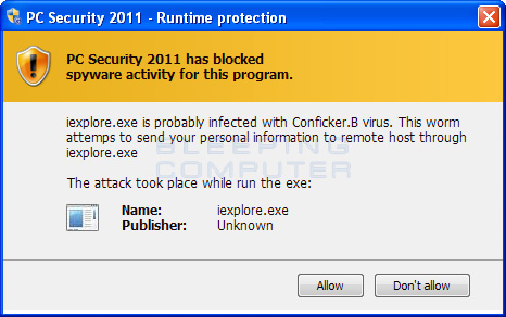 Runtime Protection Alert
