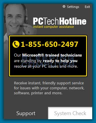 PCTechHotline screen shot